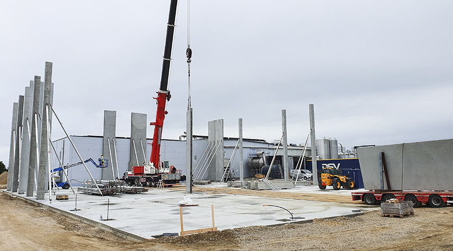 Ebrofrost byggeplads - Halle Entreprise var årets iværksættere 2018