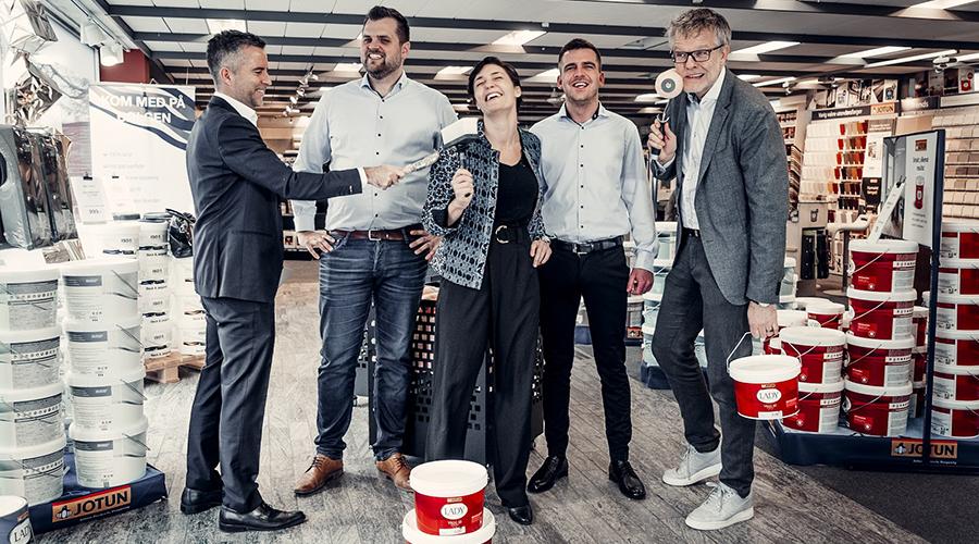 Deco farver: iværksættere får millionstøtte fra Løvens Hule