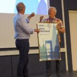 Sten Grønved modtager prisen som Årets Virksomhed 2020